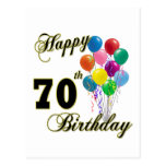 Happy 70th Birthday Gifts and Birthday Apparel