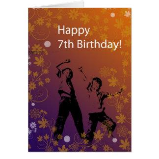 Happy 7th Birthday for Boy Card