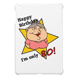 Happy 80th Birthday iPad Mini Cover