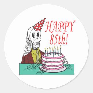 Happy 85th round sticker