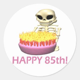 Happy 85th stickers