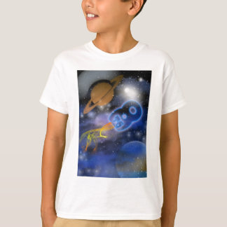 Happy 8th Birthday Plantet's Boy, Outerspace T-Shirt