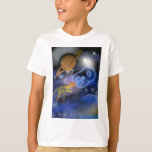 Happy 8th Birthday Plantet's Boy, Outerspace Tee Shirt