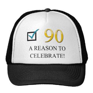 Happy 90th Birthday Cap