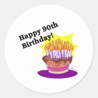 Happy 90th Birthday! Sticker