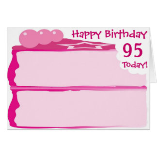 Happy 95th Birthday Card