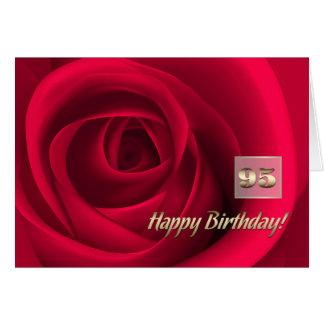 Happy 95th Birthday Customizable Greeting Cards