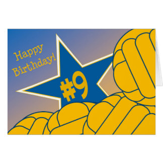 Happy 9th Birthday to my Favorite Water Polo Star! Greeting Card
