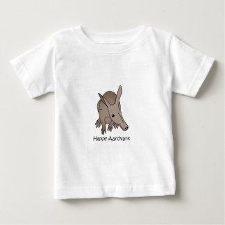 Happy Aardvark Baby T-Shirt