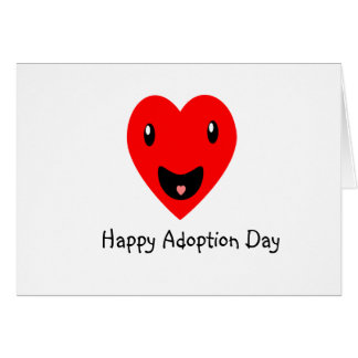 Happy Adoption Day 7.8 Card
