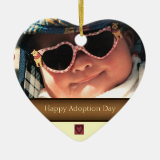 Happy Adoption Day Photo Ornament