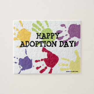 Happy Adoption Day Puzzle