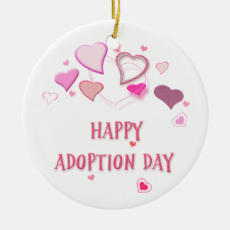 Happy Adoption Day Souvenir Hanging Ornament