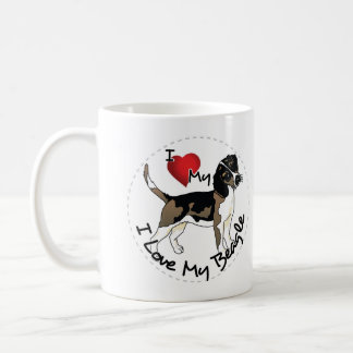 Happy Adorable & Funny Beadle Dog Coffee Mug