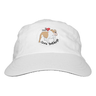 Happy Adorable & Funny Bulldog Dog Hat
