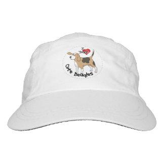 Happy Adorable Funny & Cute Beagle Dog Hat