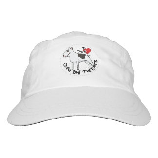 Happy Adorable Funny & Cute Bull Terrier Dog Hat