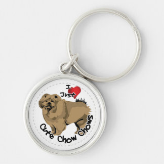 Happy Adorable Funny & Cute Chow Chow Dog Key Ring