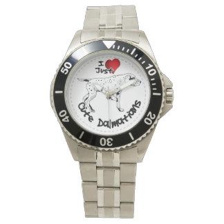 Happy Adorable Funny & Cute Dalmatian Dog Wrist Watches