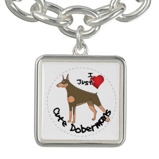 Happy Adorable Funny & Cute Doberman Dog