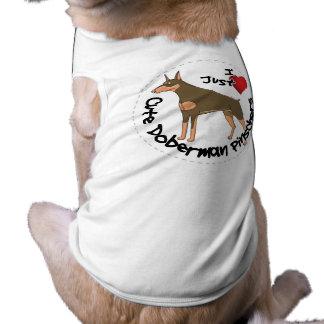 Happy Adorable Funny & Cute Doberman Pinscher Dog Shirt