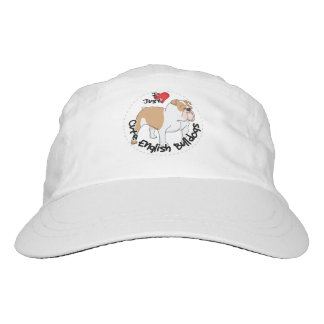 Happy Adorable Funny & Cute English Bulldog Dog Hat