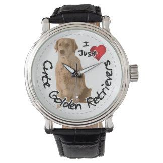 Happy Adorable Funny & Cute Golden Retriever Dog Watch