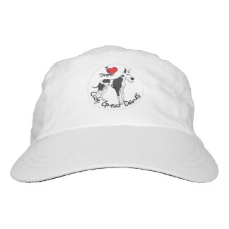 Happy Adorable Funny & Cute Great Dane Dog Hat