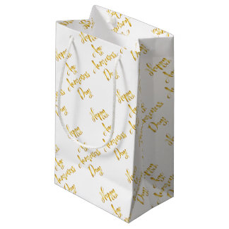Happy age awareness day birthday supplies small gift bag