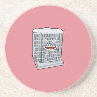 Happy Air Conditioner AC unit smiling Coaster