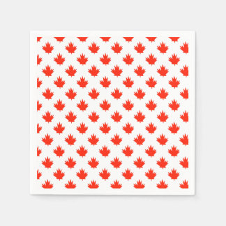 Happy All Over Canada Day Party Paper Napkins Paper Napkin