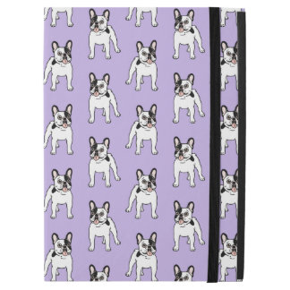"""Happy and Fun Single Hooded Pied Frenchie iPad Pro 12.9"""" Case"""