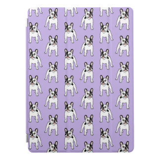 Happy and Fun Single Hooded Pied Frenchie iPad Pro Cover