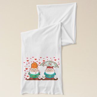 Happy and Grumpy Gnomes Scarf