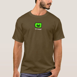 Happy Android battery T-Shirt