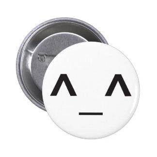 Happy Anime Face 6 Cm Round Badge