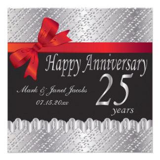 Happy Anniversary 25 Years Announcement