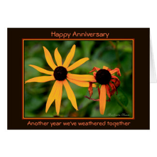 Happy Anniversary: Another year we've weathered Card