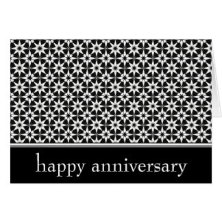 happy anniversary : elegant : card
