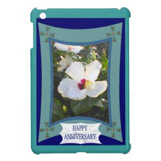 Happy Anniversary floral 3 Case For The iPad Mini