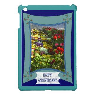 Happy Anniversary floral 6 iPad Mini Covers
