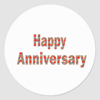 HAPPY Anniversary GIFTS n ReturnGIFTS LOWPRICES Classic Round Sticker