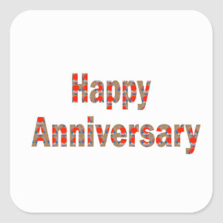 HAPPY Anniversary GIFTS n ReturnGIFTS LOWPRICES Square Sticker