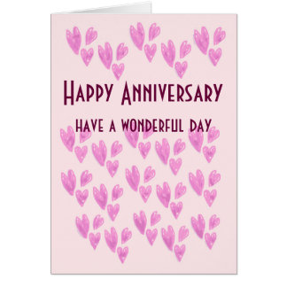 Happy Anniversary have a wonderful day card