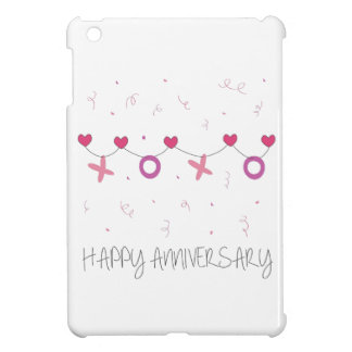Happy Anniversary iPad Mini Cover