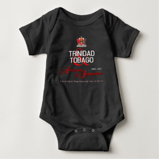 Happy Anniversary of Independence T&T Baby Bodysuit
