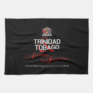 Happy Anniversary of Independence T&T Tea Towel