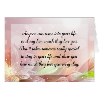 Happy Anniversary or Birthday Love Quote Card