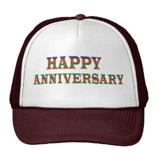 HAPPY ANNIVERSARY TEXT: happyanniversary lowprice Trucker Hat