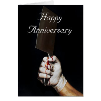 Happy Anniversary...with a difference Card